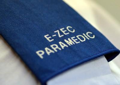 An E-zec Paramedic epaulet